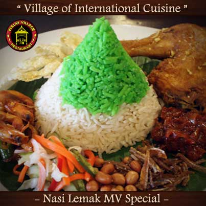 Nasi Lemak MV Special