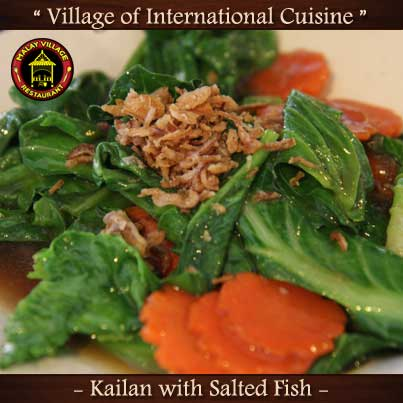 Kailan with Salted Fish