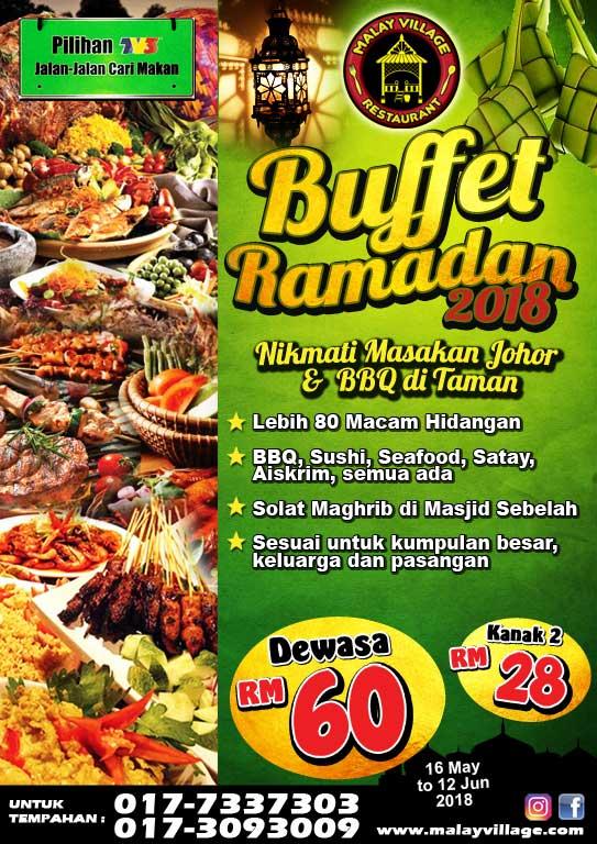 Buffet Ramadan 2018 Johor Bahru