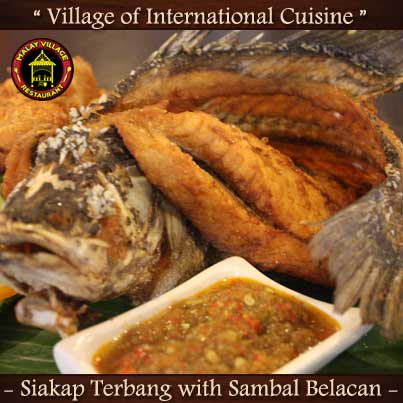 Malay Village Restaurant Siakap-Terbang-with-Sambal-Belacan